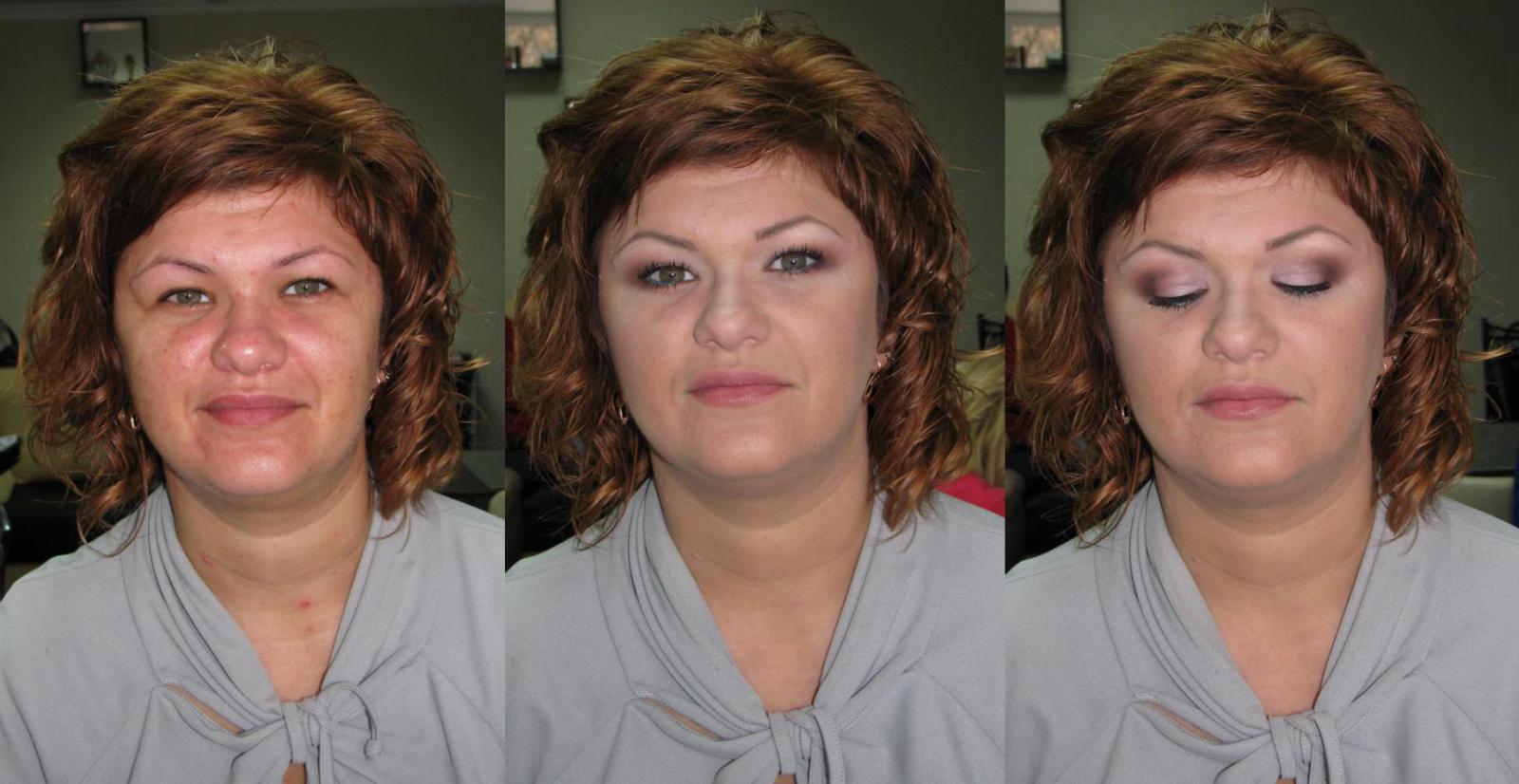Фото макияжа для женщин за 40 лет