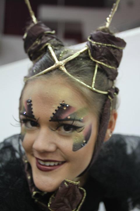 Фантазийный макияж 5 место