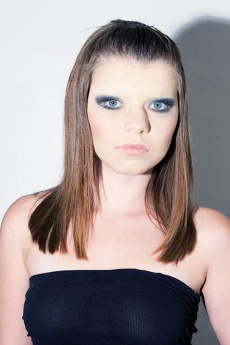 Фэшн-макияж, позапрошлый сезон.