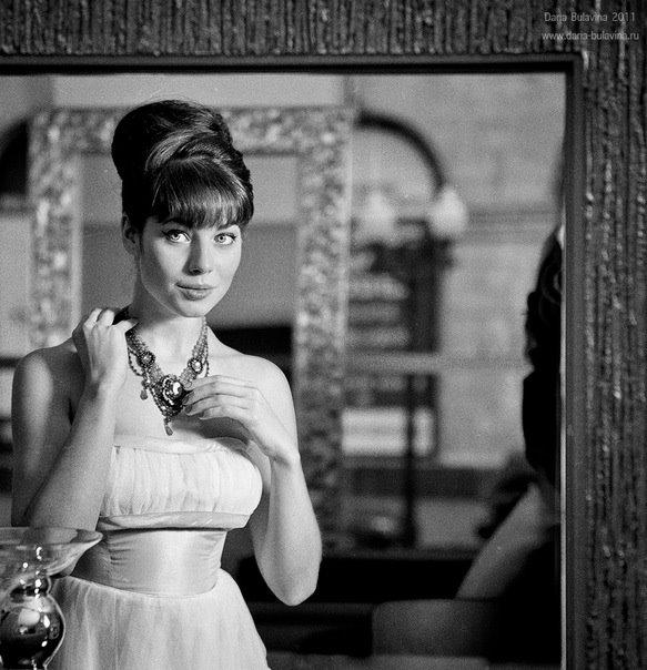 Юлия Снигирь в образе Одри Хепберн для L'Oreal.