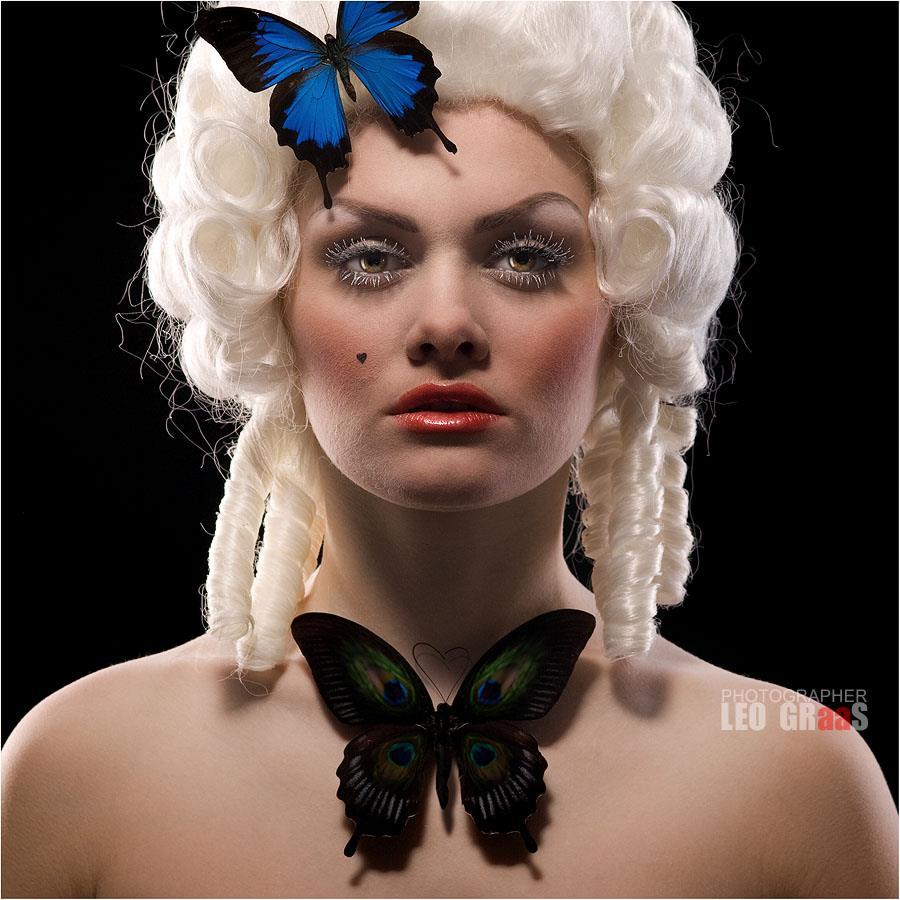Люблю носить бабочку.