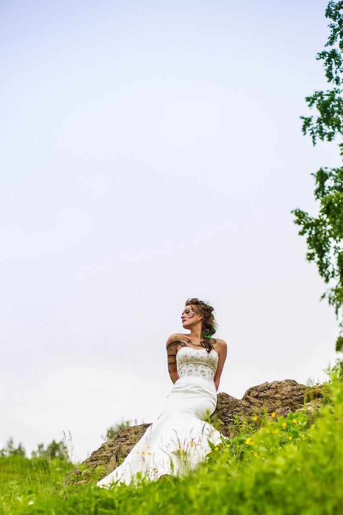 образ невесты змеи( парад невест 2012)