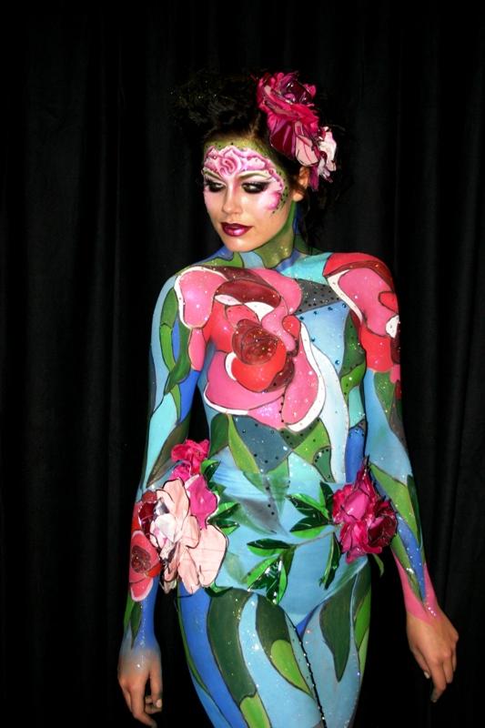 Боди-арт Дарьи Богатовой www.artbanda.com