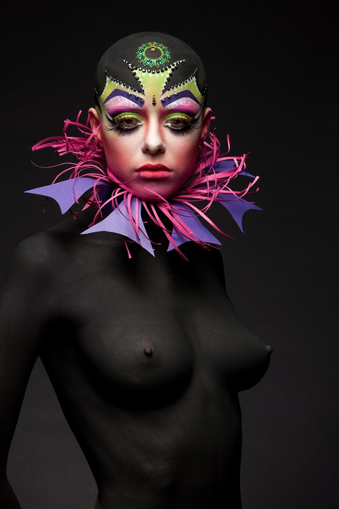 Визаж, боди-арт Дарьи Богатовой www.artbanda.com
