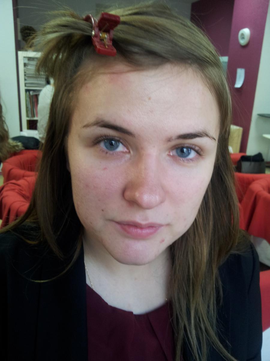 мой первый макияж
