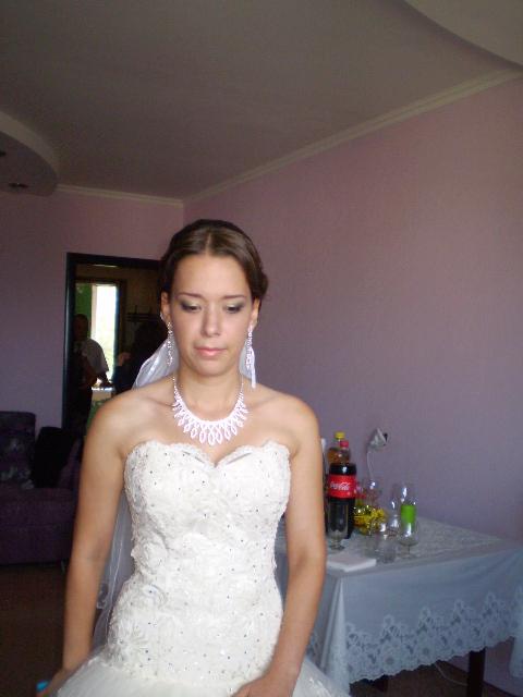 Самый первый свадебный макияж2