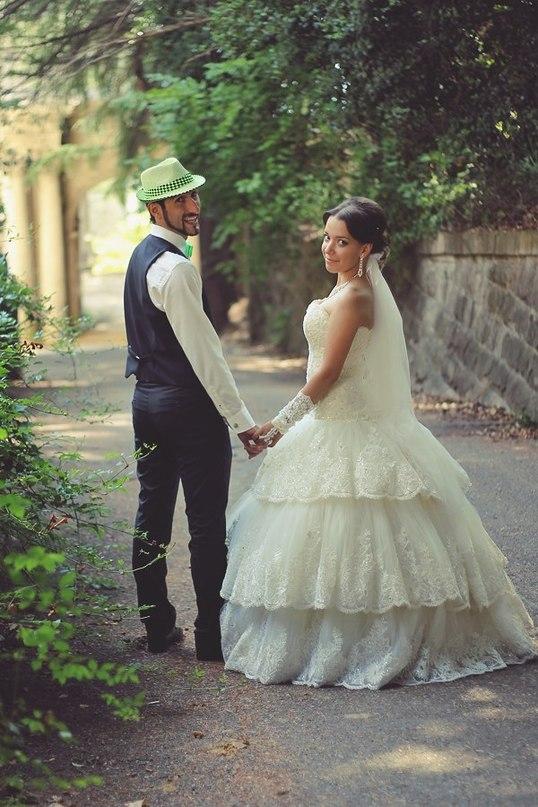Самый первый свадебный макияж1
